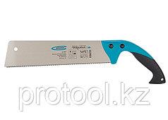 Ножовка по дер.PIRANHA,многофу-нкц.,предельная гибкость полотна,300мм,14-15TPI,зуб3D,кал.зуб// GROSS