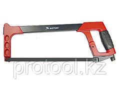 Ножовка по металлу, 300 мм, биметаллическое полотно, обрезиненная рукоятка// MATRIX