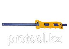 Ножовка по металлу, 300 мм, пластмассовая ручка// SPARTA