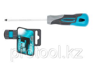 Отвертка SL4,0 x 100 мм, S2, трехкомпонентная рукоятка//GROSS, фото 2