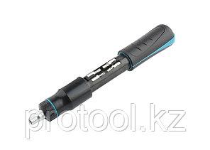 Отвертка реверсивная с револьверным механизмом, 11 шт, сталь S2//Gross, фото 2