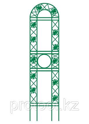 Панель садовая декоративная для вьющихся растений, 139 х 35 см, фронтальная// PALISAD, фото 2