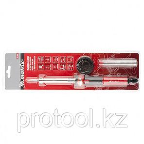 Паяльник,пл.ABS, класс защиты 1, индикатор,медный наконеч. с долговеч. покрытием,220В,60W// MATRIX, фото 2