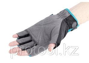 Перчатки  комбинированные облегченные, открытые пальцы, AKTIV, М// GROSS, фото 2
