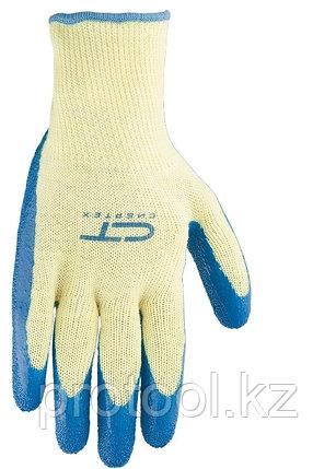 Перчатки хлопчатобумажные, латексное рельефное покрытие, L// СИБРТЕХ, фото 2