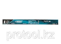 """Пильное полотно для прецизионного стусла """"PIRANHA"""", 550 мм, зуб 2D, каленый зуб, 14 TPI// GROSS"""