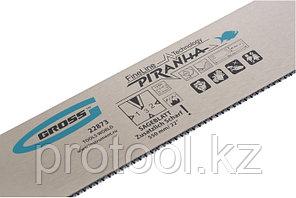 """Пильное полотно для прецизионного стусла """"PIRANHA"""", 550 мм, зуб 3D, каленый зуб, 18 TPI// GROSS, фото 2"""