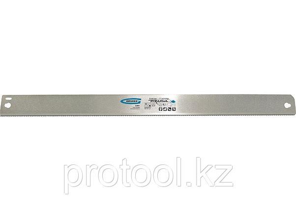 """Пильное полотно для прецизионного стусла """"PIRANHA"""", 600 мм, зуб 2D, каленый зуб, 24 TPI// GROSS, фото 2"""