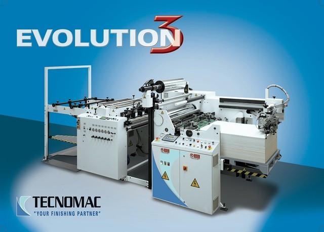 Автоматический ламинатор Tecnomac EVOLUTION 145 (Италия)