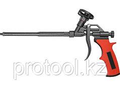 Пистолет для монтажной пены, тефлоновое покрытие, двухкомпонентная ручка// MATRIX