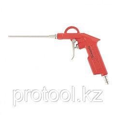 Пистолет продувочный с удлиненным соплом, пневматический, 135 мм// MATRIX