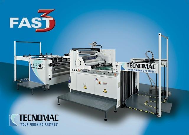 Автоматический ламинатор Tecnomac FAST 112x142 (Италия)