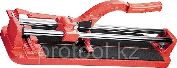 Плиткорез 400 х 16 мм, литая станина,каретка на подшипниках, усиленная рукоятка// MTX, фото 2