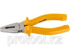 Плоскогубцы Classic, 160 мм, шлифованные, пластмассовые рукоятки// SPARTA