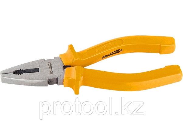 Плоскогубцы Classic, 200 мм, шлифованные, пластмассовые рукоятки//  SPARTA, фото 2