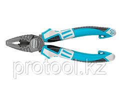 Плоскогубцы комбинированные 165 мм,  трехкомпонентные рукоятки// GROSS
