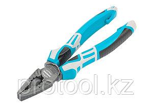 Плоскогубцы комбинированные 180 мм, трехкомпонентные рукоятки// GROSS, фото 2