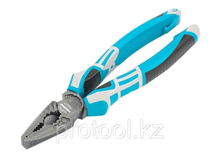 Плоскогубцы комбинированные 205 мм,  трехкомпонентные рукоятки// GROSS