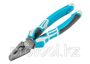 Плоскогубцы комбинированные 205 мм,  трехкомпонентные рукоятки// GROSS, фото 2