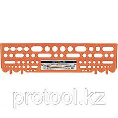 Полка для инструмента  62,5 см., оранжевая //Stels