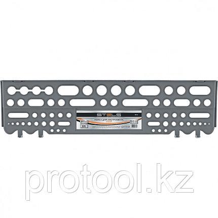 Полка для инструмента  62,5 см., серая //Stels, фото 2