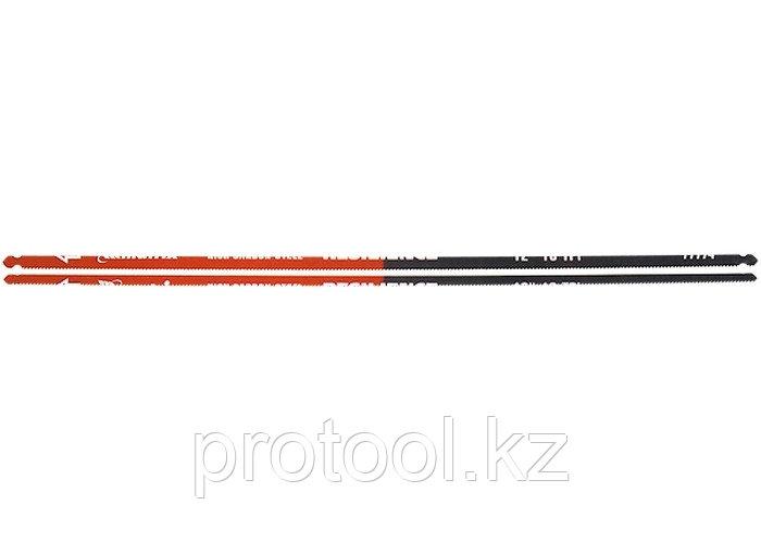 Полотна для ножовки по металлу, 300 мм, 18TPI, упругое, 2 шт.// MATRIX
