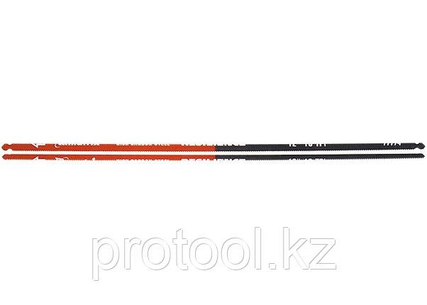 Полотна для ножовки по металлу, 300 мм, 18TPI, упругое, 2 шт.// MATRIX, фото 2
