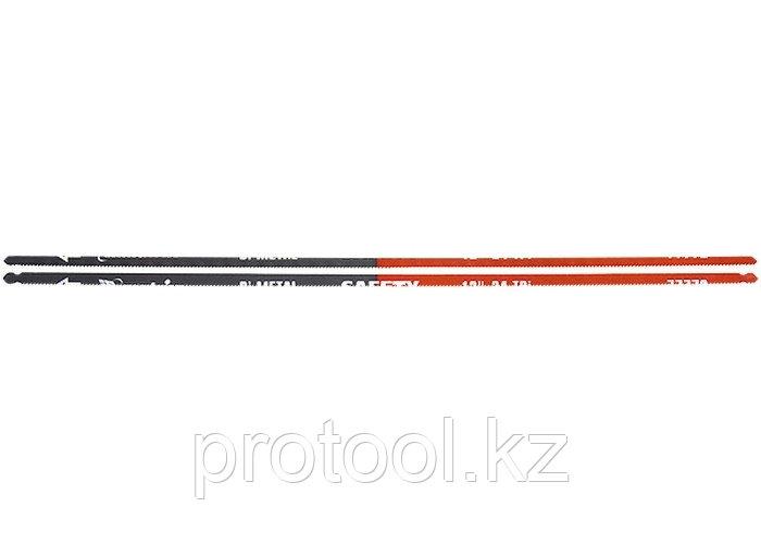 Полотна для ножовки по металлу, 300 мм, 24TPI, биметаллическое, 2 шт.// MATRIX