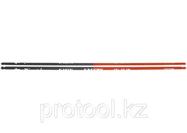 Полотна для ножовки по металлу, 300 мм, 24TPI, биметаллическое, 2 шт.// MATRIX, фото 2