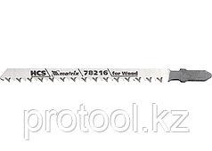 Полотна для электролобзика  по дереву, 3 шт. T301CD, 90 x 3мм, HCS // MATRIX Professional
