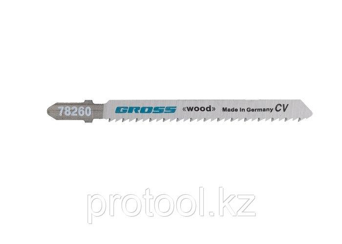 Полотна для электролобзика  по дереву, 2 шт. ( 3101 - T101B ) // GROSS