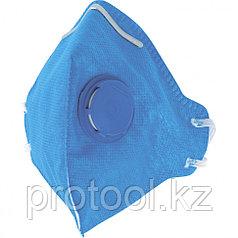 Полумаска фильтрующая (респиратор), складная, с клапаном выдоха, FFP1// СИБРТЕХ/Россия