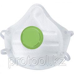 Полумаска фильтрующая (респиратор), с клапаном выдоха, FFP1// СИБРТЕХ/Россия