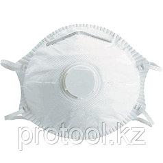 Полумаска фильтрующая (респиратор), формованная, с клапаном выдоха, FFP2// СИБРТЕХ/Россия
