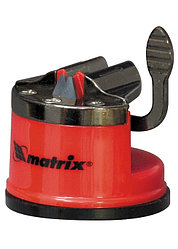 Приспособление для затачиван. ножей любого типа, метал. направляющая, крепление на присоске// MATRIX