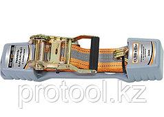 Ремень багажный с крюками, 0,038х10м, храповый механизм Automatic// STELS