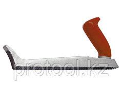 Рубанок, 250 х 42 мм, обдирочный, металлический, для гипсокартона// MATRIX