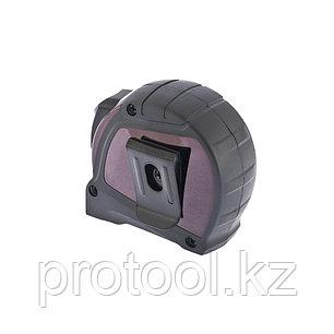 """Рулетка """"Doppelhaken"""", 3 м x 16 мм, односторонний зацеп, нейлон, двуст. шкала, автоматич// GROSS, фото 2"""
