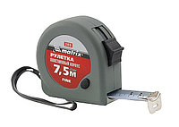 Рулетка Fine, 7,5 м х 25 мм, пластиковый корпус// MATRIX