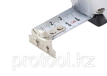 Рулетка Magnetic, 7,5 м х 25 мм, магнитный зацеп// MATRIX, фото 2