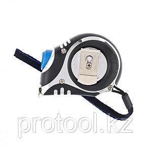 Рулетка Платинум, 3 м х 16 мм, утолщенное полотно, автоматическая фиксация// БАРС, фото 2
