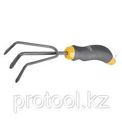 Рыхлитель 3-зубый, эргономичная двухкомпонентная рукоятка// PALISAD LUXE