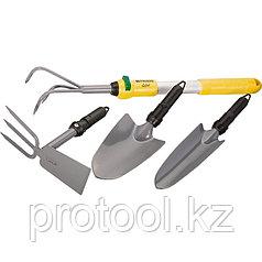 Садовый набор 5 предметов, со съёмной рукояткой // PALISAD LUXE