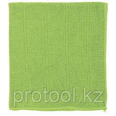 Салфетка из микрофибры для кухни зел. 350*400 мм //Elfe