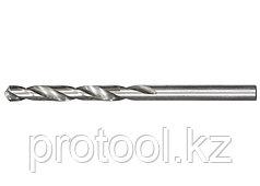 Сверло по металлу, 1,0 мм, полированное, HSS, 10 шт. цилиндрический хвостовик// MATRIX