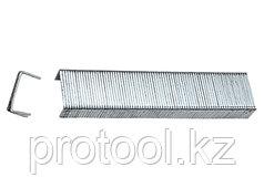 Скобы, 10 мм, для мебельного степлера, закаленные, тип 53, 1000 шт.// MATRIX MASTER