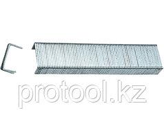 Скобы, 12 мм, для мебельного степлера, закаленные, тип 53, 1000 шт.// MATRIX MASTER