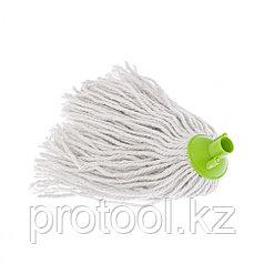 Сменная насадка из  хлопка, 200 гр,  зеленая для швабры 93520, 93522//ELFE Light