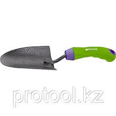 Совок посадочный широкий, защитное покрытие, обрезиненная эргономичная рукоятка// PALISAD
