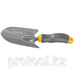 Совок посадочный широкий, эргономичная двухкомпонентная рукоятка// PALISAD LUXE